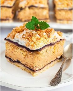 Ciasto hukzulka - I Love Bake German Desserts, Food Cakes, Tiramisu, Cake Recipes, Nutella, Cheesecake, Deserts, Food And Drink, Cooking Recipes