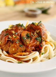 Osso Buco à la milanaise, just love cooking this dish :)