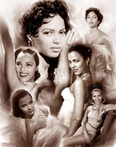 A Black historical montage created by Wishum Gregory to pay tribute to the life and legacy of the legendary actress, singer and dancer, Dorothy Dandridge. Dorothy Dandridge, Hollywood Glamour, Old Hollywood, Classic Hollywood, Hollywood Stars, Divas, Idda Van Munster, Best Actress Oscar, Vintage Black Glamour