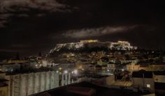 https://flic.kr/p/Rscecr | Acropolis at night from Monastiraki Square | IMG_7675_6_7_tonemapped1