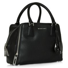 """Just In! NWT MK Zoey Pebbled Leather Bag Brand new with tags and dust bag. MSRP $348 plus tax. 8 1/2"""" wide x 6 1/2"""" height x 2 1/2"""" depth. Black leather with silver rhodium hardware. Zipper compartment on exterior, top zip closure. Adjustable strap with 20-22"""" drop. Interior has zipper compartment, 5 card slots and 1 open pocket.  stunning . Reasonable offers welcome. Michael Kors Bags"""