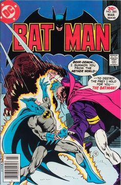Batman meets Gentle Ben.