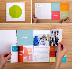 How cool is this for a branding guidelines?