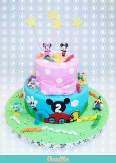 Tenemos la casa de un personaje muy querido en Vanilla Repostería  ¡Mickey Mouse!