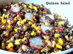 Quinoa Salad / Ensalada de quinoa - La cocina de Vero