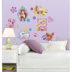 Superb RoomMates Disney Princess Palace Pets Peel and Stick Wall Decals