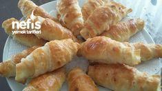 Puf Puf Kabaran Katmer Börek – Nefis Yemek Tarifleri Hot Dog Buns, Hot Dogs, Turkish Recipes, Hamburger, Sausage, Bread, Dishes, Baking, Food