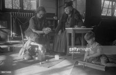 Italian educationist and founder of the Montessori Schools, Maria Montessori - watching pupils in class at a school in Acton, London, November Original publication: Picture Post - 4244 - The Woman Who Made School Fun - pub. Maria Montessori, Class Pictures, Make School, What Can I Do, Private School, Preschool, Acton London, Public, Fun