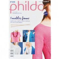 Phildar boek 640 15 damesmodellen