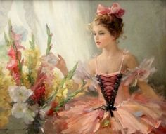 "Konstantin Razumov. ENLARGE TO SEE THIS BEAUTIFUL PHOTO.  The colors are extraordinarily beautiful.  ""I FEEL LIKE SUCH A PRINCESS"".  B."