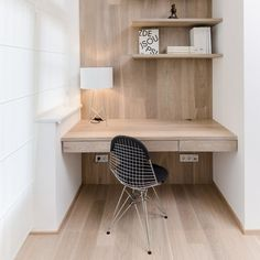 Great usage of space. Awesome desk.