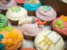 Arty Cupcakes