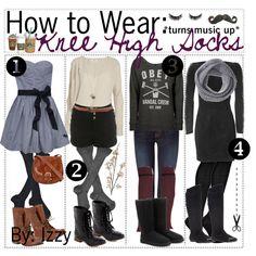 How to Wear: Knee High Socks