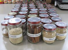 5 Ideas To Organize Spice Storage In Baby Bood Jars - Shelterness