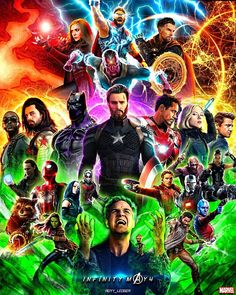 "8,757 Likes, 59 Comments - AnuragRai (@royy_ledger) on Instagram: ""The infinity war @marvel @avengers Check the link in bio for full HD resolution #infinitywar…"""