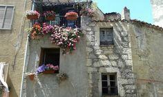 Balconi fioriti Cuglieri