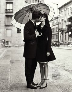 Love Story by Nikolay Biryukov for Elle Ukraine September 2012
