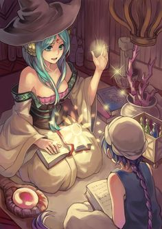 MAGI-Yamuraiha and Aladdin by Breica.deviantart.com on @deviantART This is so beautiful!