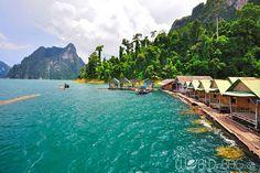 اقامتگاه های سنتی تایلندی در سواحل