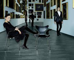 1000 images about arne jacobsen on pinterest arne. Black Bedroom Furniture Sets. Home Design Ideas