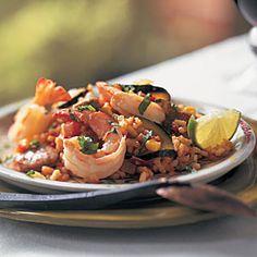 Turkey-Sausage Paella | Recipes | Pinterest | Paella, Turkey Sausage ...