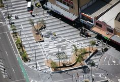 Lonsdale Street in Dandenong (Australia). By T.C.L - Taylor Cullity Lethlean