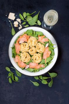 One Pot Pasta Lachs & Spinat