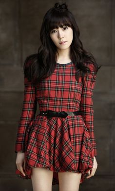 Checkered is always in to me. Model- Tiffany Hwang