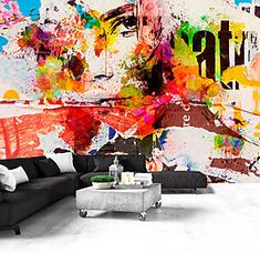 """Availability: on orderResistant, water-rejecting and scratch-proof fleece wallpaper """"City Collage"""". Wallpaper """"City Collage"""" with the inspiring motive will be an effective eye-catch for each interior. 3d Wallpaper City, 3d Wallpaper Abstract, View Wallpaper, Photo Wallpaper, Wallpaper Murals, Collage Foto, City Collage, Dark Jungle, Spray Ground"""