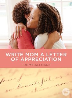 A Love Letter To My Mother