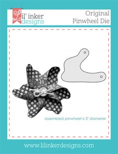 Pinwheel Die Cutting Supplies for Paper Crafting. Each die cuts one *petal* for your pinwheel. A full pinwheel has six petals and will be 3 inches in diameter. Buy Now! Little Company, Pencil Toppers, Card Tricks, Tape Crafts, Felt Flowers, Pinwheels, Creative Crafts, Cardmaking, Craft Supplies