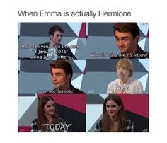 harry potter, emma watson, and rupert grint image., unless you mean *Harry Potter, hermione granger and ron Weasley Harry Potter World, Mundo Harry Potter, Harry Potter Puns, Harry Potter Cast, Harry Potter Universal, Harry Potter Birthday Meme, Harry Potter Interviews, Harry Potter Characters, Harry Potter Francais