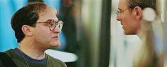 Michael Fassbender & Michael Stuhlbarg in Steve Jobs