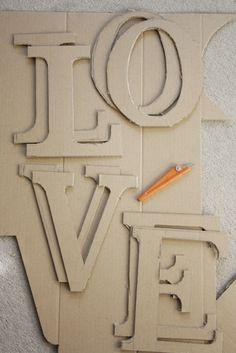 Serendipity Child: Decorative Letters Tutorial