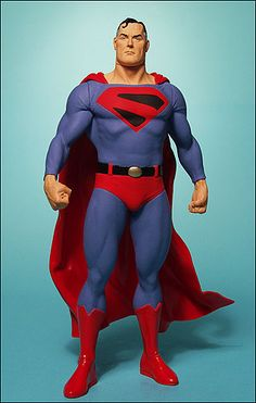 Superman Kingdom Come action figure by DC Direct Superman Family, Batman And Superman, Statues, Dc Action Figures, D Mark, Dc Comics Art, Man Of Steel, Figure Model, Dc Heroes