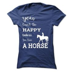Happy Horse T Shirts, Hoodies. Check Price ==► https://www.sunfrog.com/Pets/Happy--Horse.html?41382