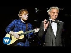 Ed Sheeran - Perfect Symphony with Andrea Bocelli (LIVE) Lyrical Video