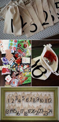 The Framed Advent Calendar | 33 Clever And Adorable DIY Advent Calendars