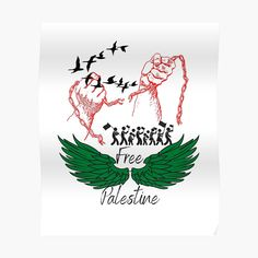 """"""" freedom for Palestine Gaza """" Sticker by bahaa8719 