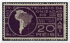 FILATELIA_CAMPOS PEREIRA: Janeiro 2012 - 4º centenário da colonização do Brasil