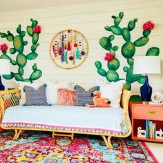 Home Kids' Room Nursery Bedroom Design Idea Decoration Furniture Deco Boheme Chic, Boho Chic, Modern Bohemian, Bohemian Style, Bohemian Kids, Deco Kids, Diy Casa, Home And Deco, New Room