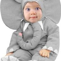 Amazon.com: Unique Child's Infant Baby Elephant Halloween Costume (6-12 Months): Toys & Games