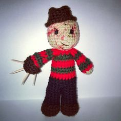 Crochet Horror Movie Characters