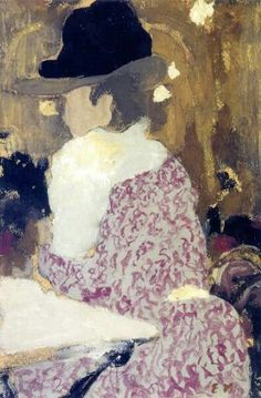 alongtimealone: At the Café-Concert Edouard Vuillard - circa 1898 (by BoFransson) Pierre Bonnard, Edouard Vuillard, Paul Gauguin, Charles Angrand, Beaux Arts Paris, Maurice Denis, Art Français, Avant Garde Artists, Georges Seurat