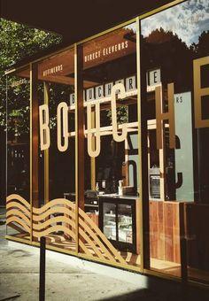 Bouche butcher shop display by (Ma+Chr) Bordeaux, Identity, Butcher Shop, Display Design, Architecture, Illustration, Interior Design, Places, Projects