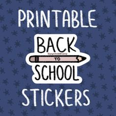 17 Back To School Collection 2020 Ideas School Collection Back To School Printable Stickers