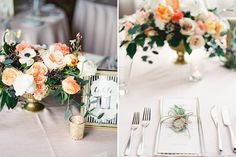 short centerpiece example Finch + Thistle Event Design, Seattle | O'Malley Photographers