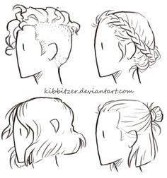 Short-Hair Reference Sheet by Kibbitzer on DeviantArt ★ || CHARACTER DESIGN REFERENCES (https://www.facebook.com/CharacterDesignReferences & https://www.pinterest.com/characterdesigh) • Love Character Design? Join the Character Design Challenge (link→ https://www.facebook.com/groups/CharacterDesignChallenge) Share your unique vision of a theme, promote your art in a community of over 25.000 artists! || ★