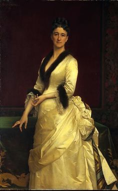 Alexandre Cabanel (French painter) 1823 - 1889 Catharine Lorillard Wolfe (1828–1887), 1876 oil on canvas, in MOMA