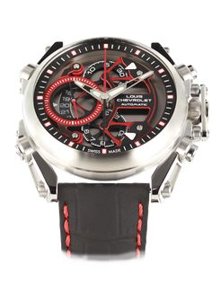 """Get an overview of the Louis Chevrolet Sport Chrono-Tour, the new automatic chronogrpah of the brand. """"Never Give Up"""" Affordable Watches, Never Give Up, Chevrolet, Sport, Accessories, Swiss Watch, Deporte, Excercise, Sports"""